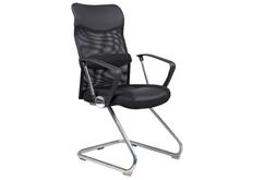 Кресло на полозьях черное