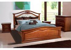 Кровать Маргарита 160x200 см орех