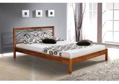 Кровать Карина 160x200 см массив ольхи/каштан