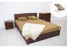 Кровать София с подъемным механизмом 140*200 см массив бука
