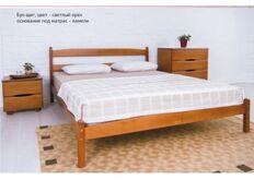 Кровать Ликерия без изножья 160x200 см светлый орех