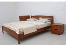 Кровать Ликерия-Люкс без изножья 180x200 см светлый орех