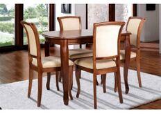 Стол обеденный раскладной Турин 1200(+400)*800 орех