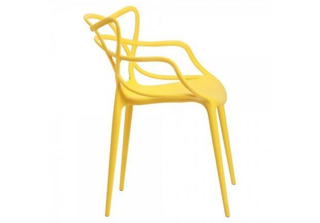 Стул пластиковый Viti желтый - Фото №2