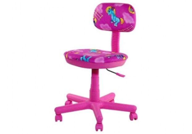 Кресло Свити корпус сиреневый Пони розовые - Фото №1