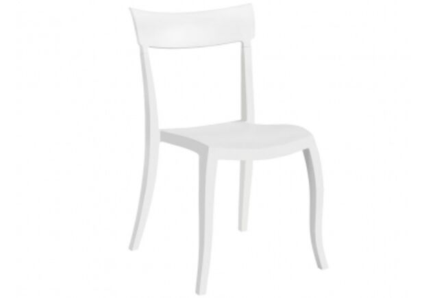 Стул пластиковый Hera-SP белый - Фото №1