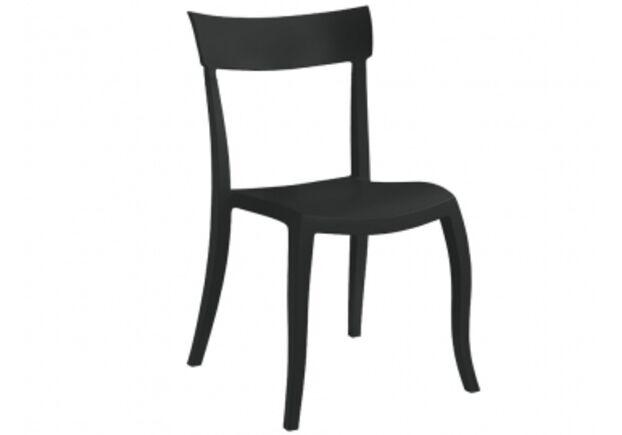 Стул пластиковый Hera-SP черный - Фото №1