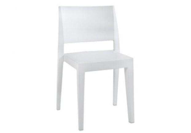 Стул пластиковый Gyza матовый белый - Фото №1