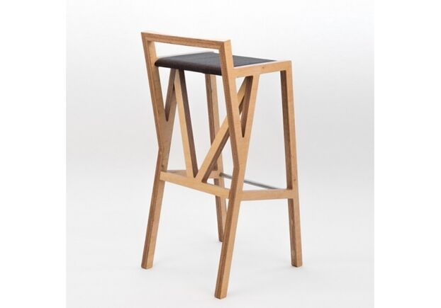 Высокий барный стул Bar chair No.1  - Фото №2