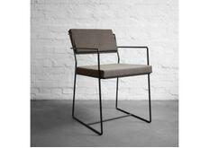Фото Стул металлический со съемными подушками Chair №4