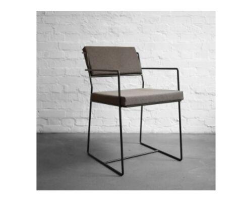 Стул металлический со съемными подушками Chair №4  - Фото №1