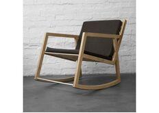Кресло -качалка Rocking chair No.1 со съемными подушками