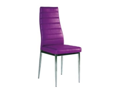 Стул H-261 Signal фиолетовый/ножки хром - Фото №1