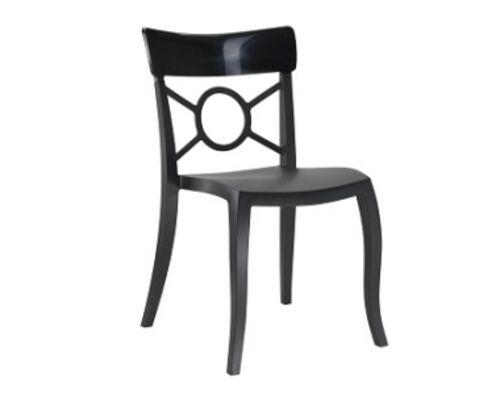 Кресло Papatya Opera-S сиденье черное/верх черный - Фото №1