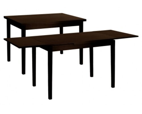 Стол обеденный Жанет 2 венге 110(147/184)*70 см - Фото №1