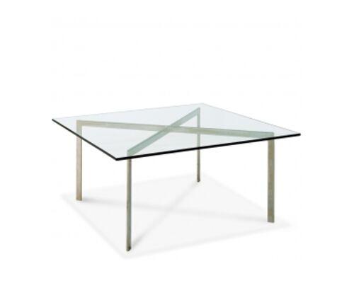 Журнальный стол Барселона прозрачное стекло - Фото №1