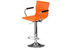 Кресло барное Bar orange plate