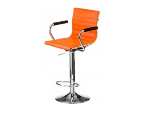 Кресло барное Bar orange plate - Фото №1