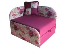 Раскладной диван Артемон розовый