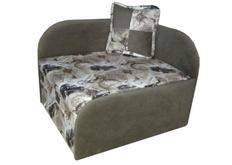 Раскладной диван-кресло серый
