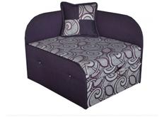 Раскладной диван-кресло фиолетовый