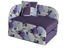 Раскладной диван для детей фиолетовый