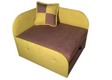 Детский диван желтый