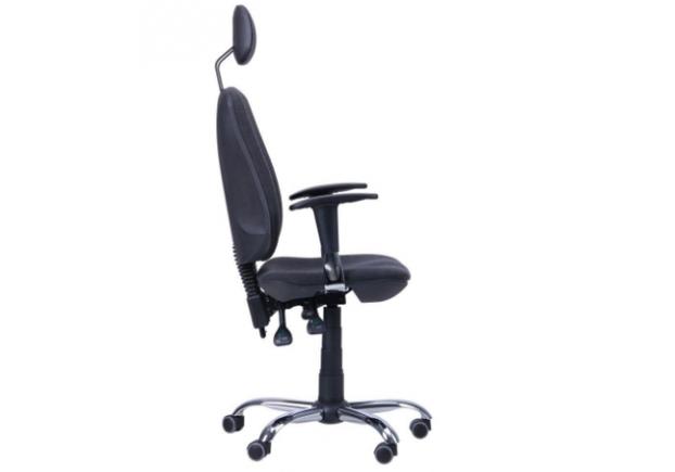 Кресло Регби HR MF Chrome Квадро с подголовником - Фото №2