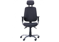 Кресло Регби HR MF Chrome Квадро с подголовником