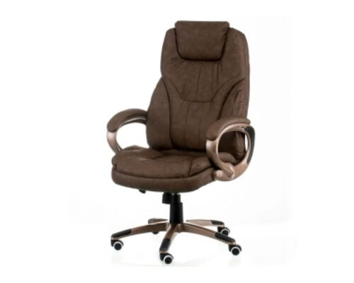 Офисное кресло для руководителя Special4You Bayron Taupe - Фото №1