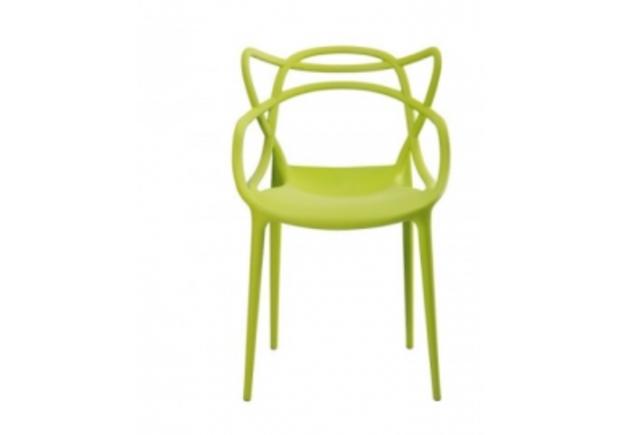 Стул пластиковый Viti светло-зеленый - Фото №1