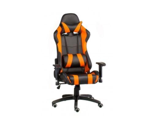 Кресло офисное SPECIAL4YOU ExtremeRace black/orange - Фото №1