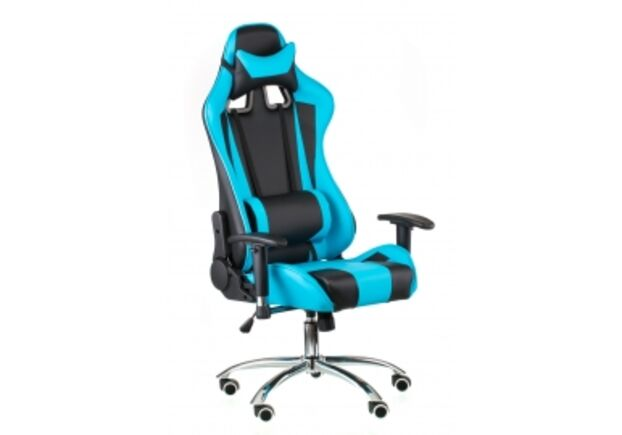 Кресло офисное SPECIAL4YOU ExtremeRace black/blue - Фото №1