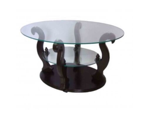 """Журнальный стеклянный стол """"Шарм"""" 1100*700*500 стекло прозрачное - Фото №1"""