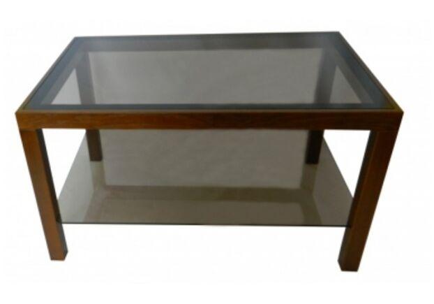 """Журнальный стеклянный стол """"Идеал"""" 900*600*500 стекло прозрачное - Фото №1"""