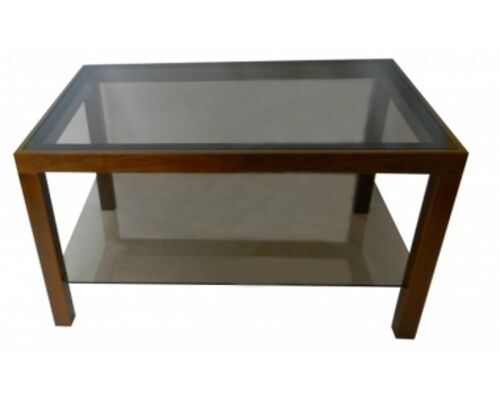 """Журнальный стеклянный стол """"Идеал"""" 900*600*500 стекло тонированное - Фото №1"""