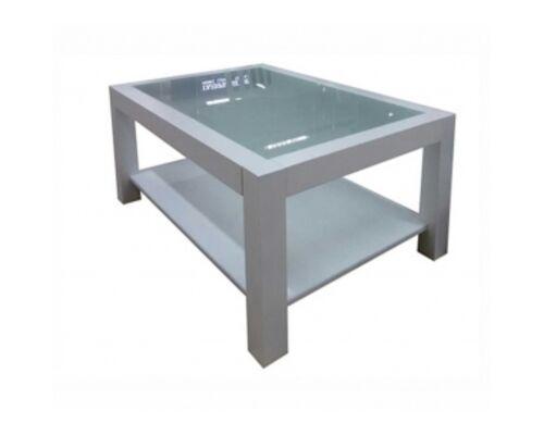 """Журнальный стеклянный стол """"Эталон"""" 1100*700*450 стекло тонированное - Фото №1"""