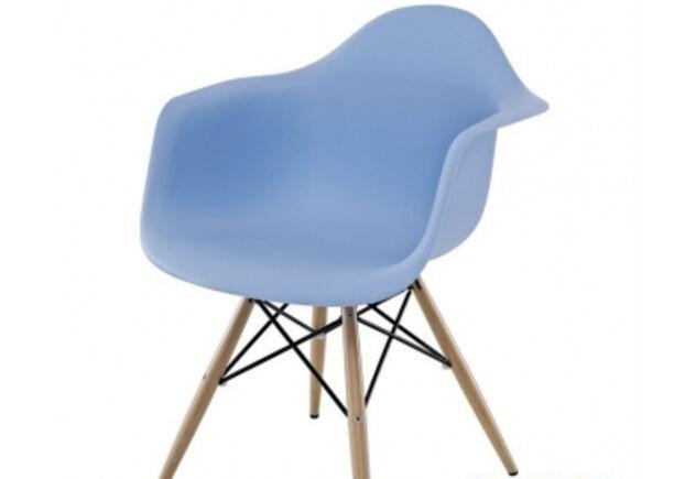 Кресло Тауэр вуд голубое - Фото №1
