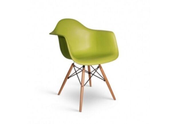 Кресло Тауэр вуд зелёное - Фото №1