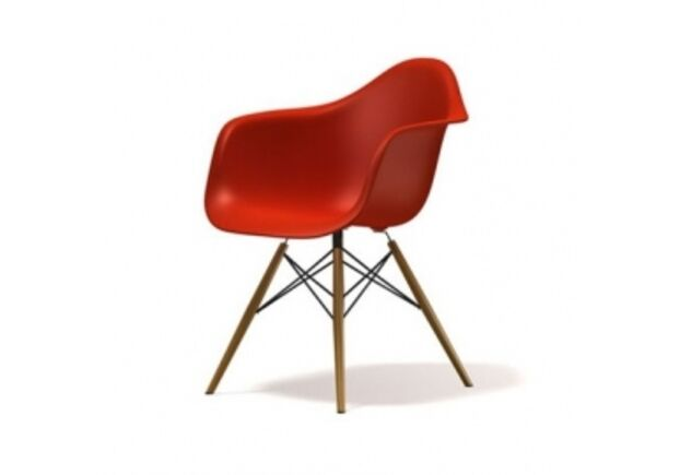Кресло Тауэр вуд красное - Фото №1