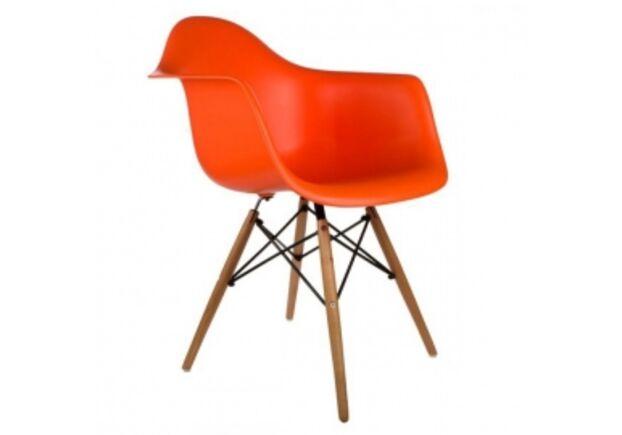 Кресло Тауэр вуд оранжевое - Фото №1
