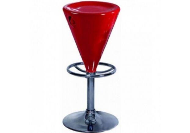 Барный стул Коно красный - Фото №1