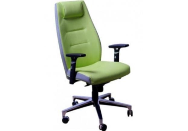 Кресло Элеганс НВ Неаполь-34 (салатовый), боковины/задник Неаполь-23 (серый) - Фото №1