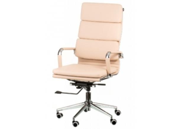 Кресло офисное Special4You Solano 2 artleather beige - Фото №1