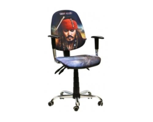Кресло Бридж Хром Дизайн Дисней Пираты карибского моря Джек Воробей - Фото №1