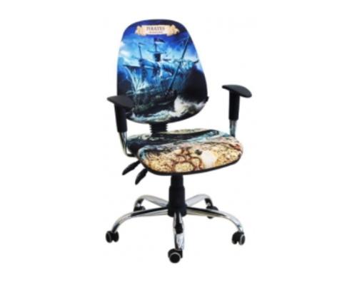 Кресло Бридж Хром Дизайн №1 Пираты - Фото №1