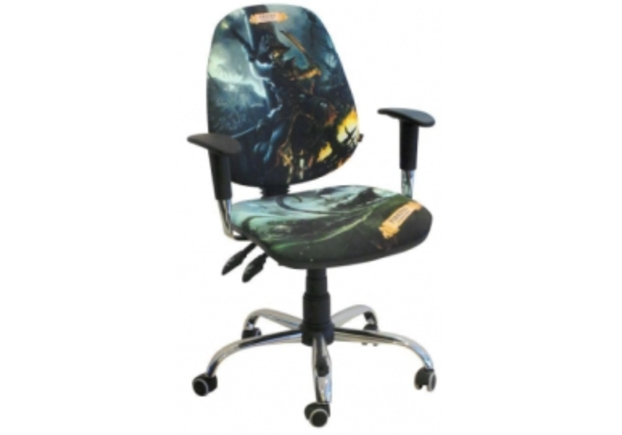 Кресло Бридж Хром Дизайн №2 Пираты - Фото №1