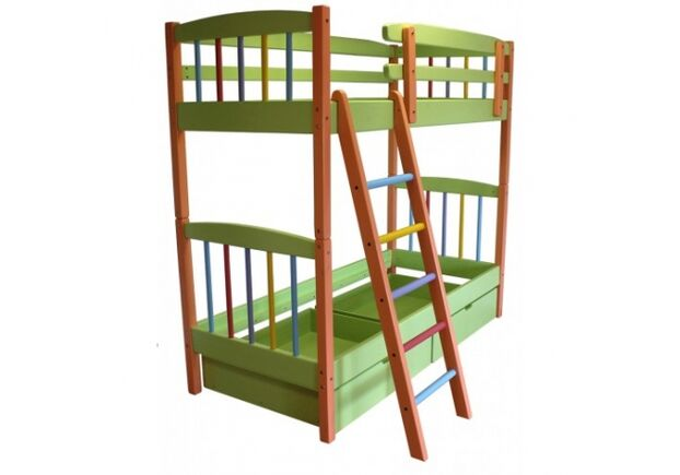 Двухъярусная кровать-трансформер РАДУГА - Фото №2