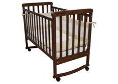 Детская кроватка Соня ЛД-12 цвет орех