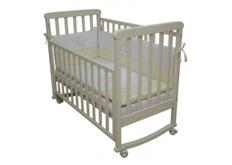 Детская кроватка Соня ЛД-12 цвет слоновая кость